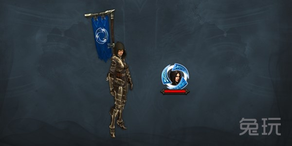 我的世界旗帜兔子-暗黑3旌旗和头像边框-风暴英雄与暗黑3联动奖励 免费英雄和坐骑图片