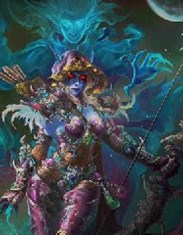 玩家原创画作:希尔瓦娜斯与她的小女妖