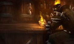 火男中单超神攻略分享:发力的燃烧黑暗吧!