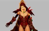 """玩家制作:""""鲜血与荣耀""""瓦莉拉模型"""