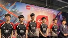 EDG赛后群访 Jinoo:大龙团是Meiko的决策