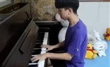 "XDD炫技钢琴演奏 98K之歌""HandClap"""