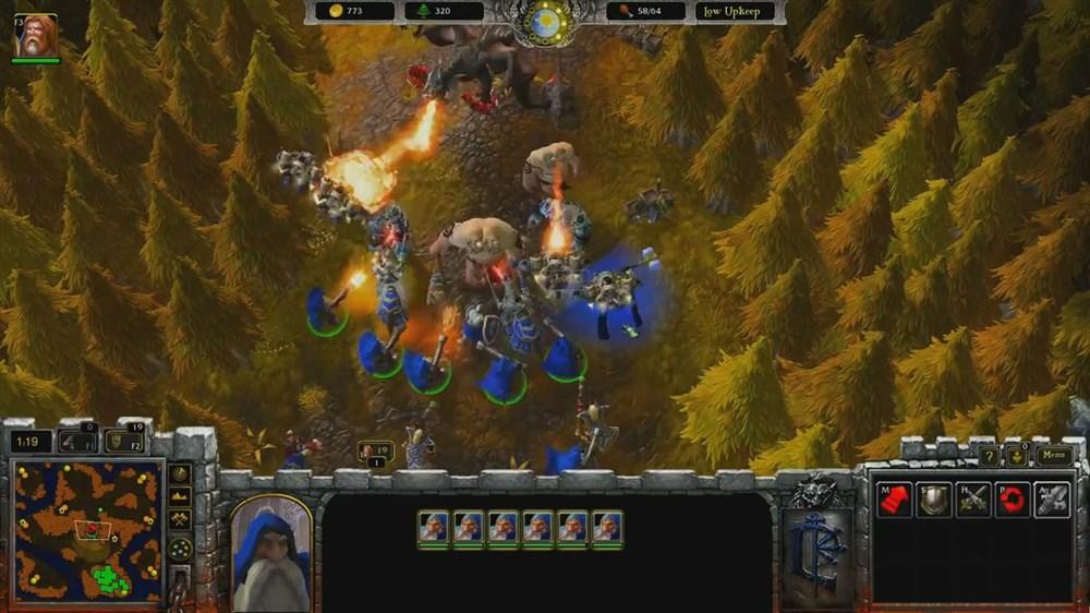 大神玩家制作魔兽争霸3高清重置版mod