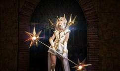 终结皮肤!大元素使拉克丝全球cosplay展