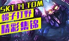 SKT T1 TOM蝎子打野精彩集锦 又肉又有控制