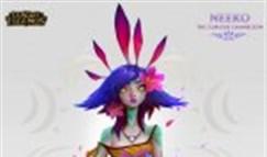 设计师放出妮蔻概念美术稿:色彩十分绚丽