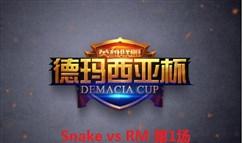[德玛西亚杯][16进8]Snake vs RM 第1场回顾