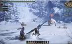 怪物猎人OL雪狮子王击杀视频 4分钟通关
