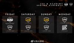 LCS:世界赛资格将由夏季赛前三名获得