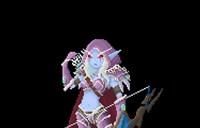 玩家原创作品:魔兽点阵人物 像素一些NPC