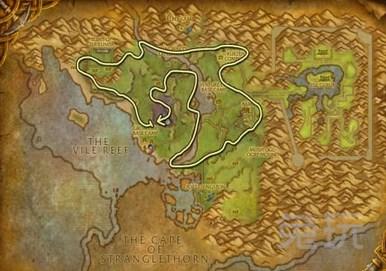 魔兽世界采矿1-600攻略 附详细路线图