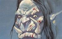 魔兽原创绘画:王某画的 油画涂鸦卡加斯