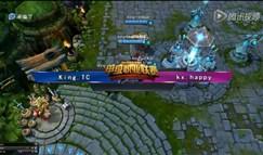 7月17日LSPL夏季赛King.TC vs kx.happy第1场