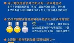 上海市率先开启电竞运动员官方注册管理!