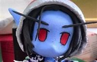 魔兽玩家软陶制作:生日贺礼-希尔瓦娜斯