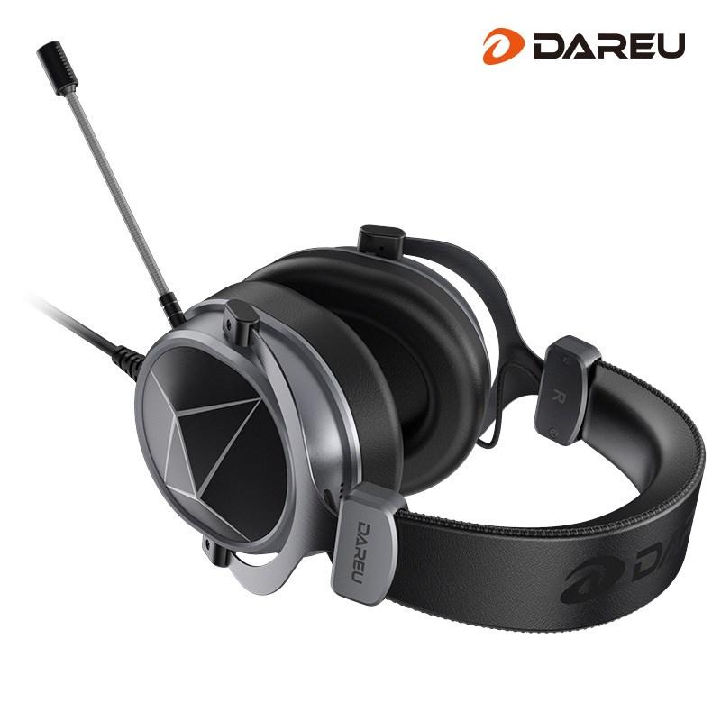 eh722音控版采用耳罩与头梁分离的结构设计,重量分布均匀,对减少头
