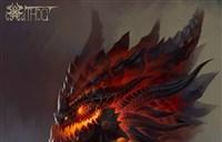 魔兽玩家绘画:玩火自焚!死亡之翼头像