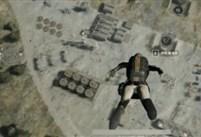 最新斜飞跳伞方法:落地快人一步很关键