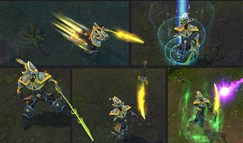 设计师恶搞英雄测试 剑圣Q技能一键五杀