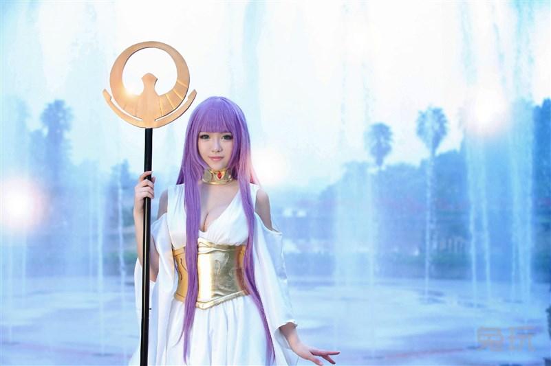 圣斗士星矢 冥王神话 雅典娜cos(7)