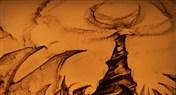 美轮美奂沙画绘制英雄 全民实力赛宣传视频