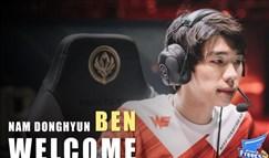 AF官宣Ben新赛季加盟 原WE双人组齐聚LCK