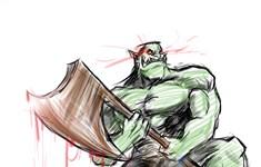鼠绘漫画:布洛克斯·希加的英雄故事
