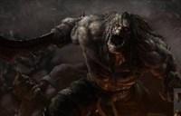 魔兽玩家七月命题绘画:卡加斯·拳刃