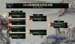 2019全球总决赛决赛11月10日首发名单