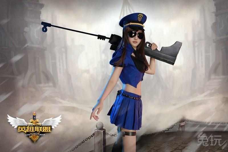 陆雪琪 英雄联盟cos照片(9)_兔玩网英雄联盟