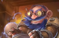 魔兽绘画:侏儒也能变羊 变形射线机2000型