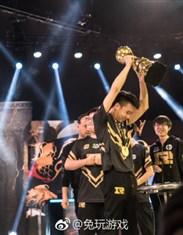 2018MSI冠军战队RNG:一场特别美丽的金色雨