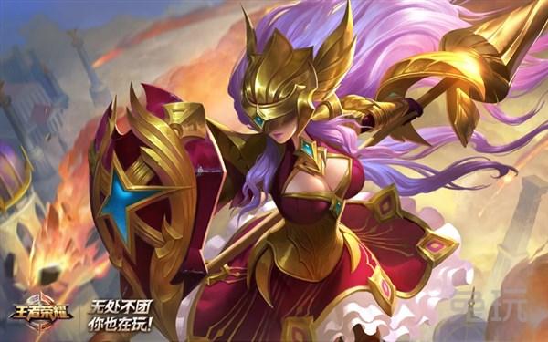 王者荣耀CJ玩家喜爱女神是她 雅典娜引爆全场