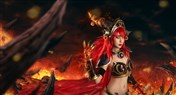 国内玩家魔兽COS 红龙女王阿莱克斯塔萨