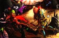 玩家绘画:我和基友大学的魔兽竞技场回忆