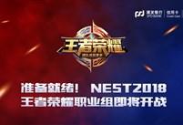 准备就绪!NEST2018王者荣耀职业组即将开战