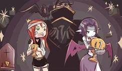 英雄联盟搞笑漫画:卡特琳娜与莫甘娜的较量