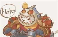 魔兽玩家绘画:MOTO老爷的督军死亡之轮帅照