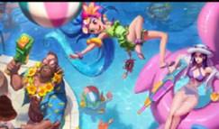 野怪也有泳池皮肤 泳池船长竟神似小李子