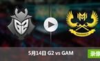 2017季中冠军赛小组赛5月14日 G2vsGAM录像