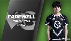 VG官宣:AD选手Snow以自由人身份离队