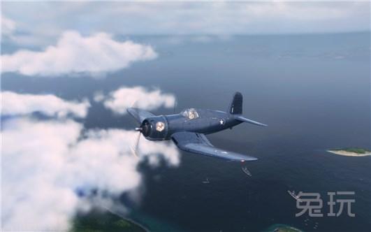 战机世界m系5级战斗机xf4u-1数据介绍