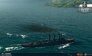 战舰世界精彩战斗视频 5级小船的7万高伤