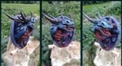 炉石玩家画作欣赏:立体浮雕版卡牌头像