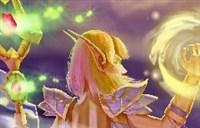 性感附魔师露背图~我的魔法就是你们的护盾!