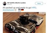 NIP选手晒柏林之旅行李 PEL柏林赛进入倒计时