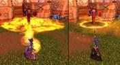 燃烧大地吧!7.0火法最新施法动画展示