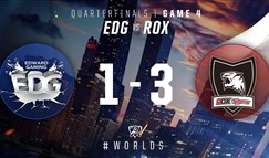 2016全球总决赛10月16日 EDG vs ROX第四场录像