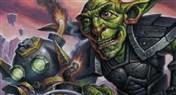 砰砰博士召唤砰砰机器人原画魔兽卡牌和炉石新卡图片