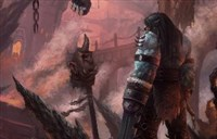 德拉诺绘画作品:《永远的卡加斯.刃拳》!